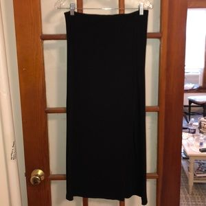 Loft Black Maxi Skirt